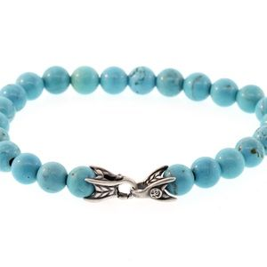 DAVID YURMAN Spiritual Bead Bracelet Turquoise men